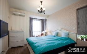 小卧室无纺布壁纸效果图