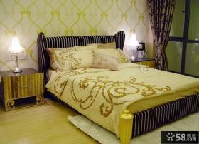 家装卧室壁纸装修效果图片大全