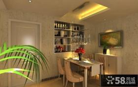 2013最新简约餐厅装修效果图片欣赏