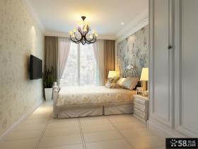 欧式卧室壁纸装修效果图