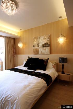 现代简约卧室家装设计效果图