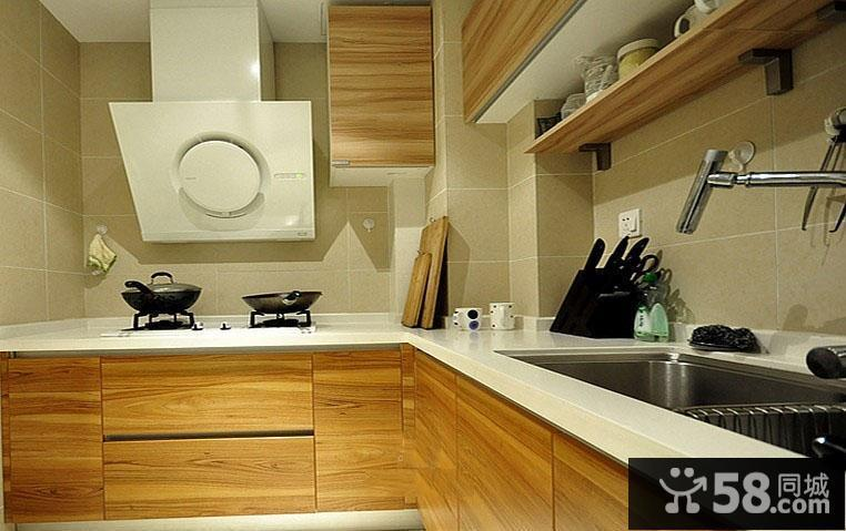 中式厨房设计效果图