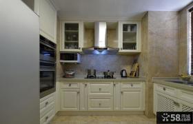 简欧厨房设计装饰效果图
