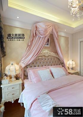 欧式风格卧室床头灯具装修效果图