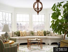 客厅飘窗装饰设计图