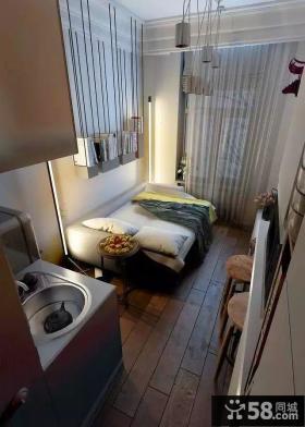 实用混搭风小型公寓设计