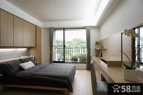 现代格主人卧室装修设计图片