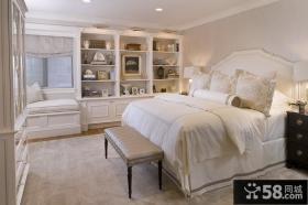 欧式风格主卧室装修效果图大全2012图片