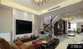 现代奢华别墅室内装修设计效果图片