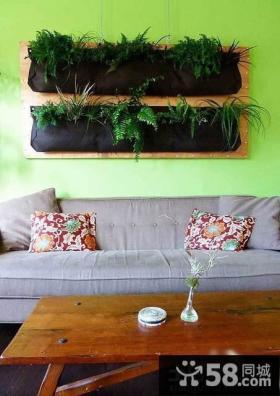 客厅沙发背景墙装饰效果图片欣赏