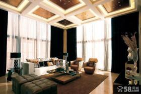 现代风格小户型家装吊顶装修效果图