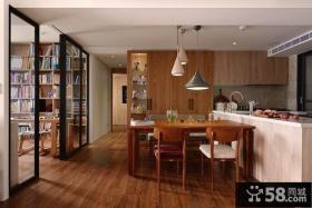 乡村风格现代家居餐厅装修效果图