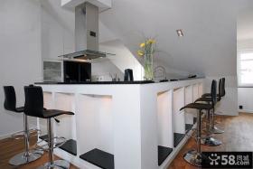阳台厨房装修效果图