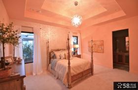 浪漫婚房卧室装修效果图大全2012图片