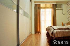 简约风格卧室窗帘图2014