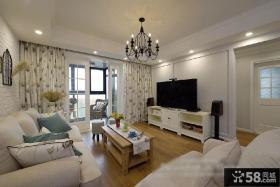 简约北欧风格客厅装潢案例