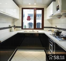 后现代风格别墅厨房设计装修效果图