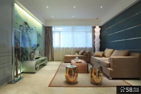 优质现代中式客厅装修效果图