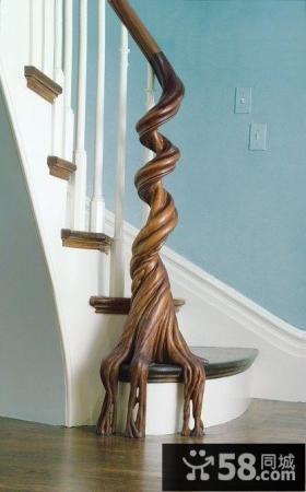 欧式楼梯装修设计图片