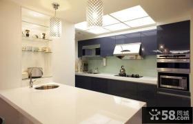现代时尚设计三室两厅效果图
