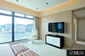 美式风格室内客厅电视背景墙图片