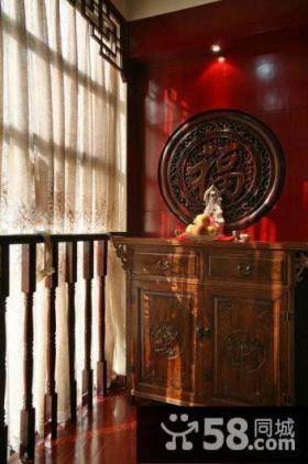 古典中式小阳台装饰