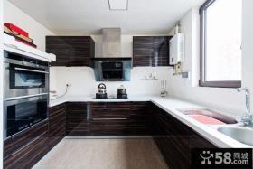 现代别墅室内厨房装修效果图片