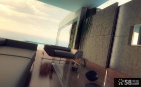 海滨别墅客厅阳台装修效果图