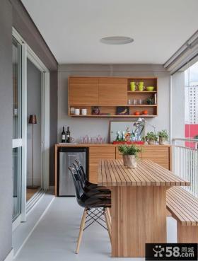 现代北欧风格阳台家居装潢