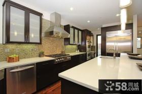 20平别墅厨房装修效果图大全2013图片