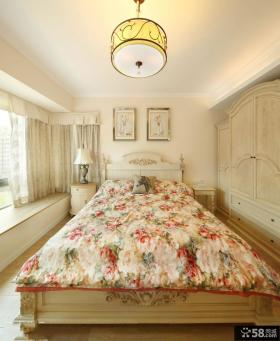 美式田园风格设计卧室装修图片
