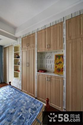 卧室整体衣柜设计装潢