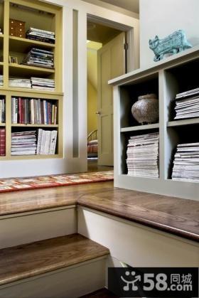 欧式乡村别墅客厅飘窗装修效果图大全2014图片