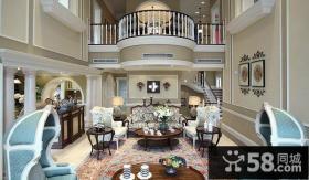 欧式别墅图片大全 客厅装修效果图大全2012图片