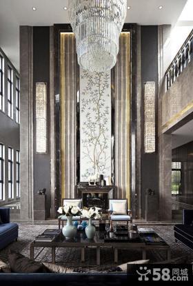 奢华新中式客厅大全