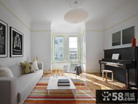 30万打造宜家现代风格三居卧室装修效果图大全2014图片