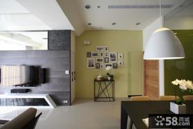 现代时尚风格三居室装修图片