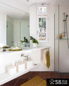 白色清新的复式楼客厅装修效果图大全2012图片