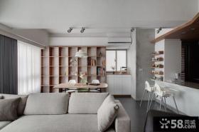 美式创意一居室设计