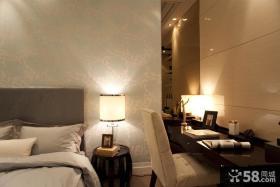 现代卧室灯具效果图