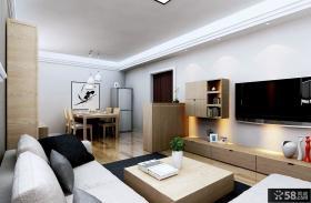 57平米简约小户型室内装修效果图大全