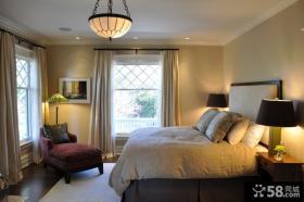 欧式简约卧室吊顶灯饰图片