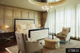 欧式现代风格卧室装修