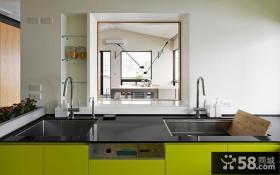 现代简约复式室内家居设计效果图