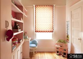 小户型粉色系女生卧室装修效果图
