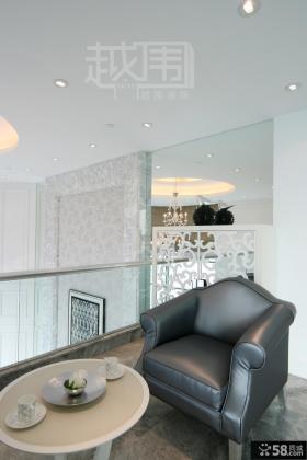 欧式风格阳台单人沙发效果图