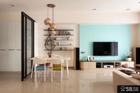 现代简约电视背景墙装饰设计图片