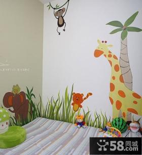 三室两厅田园风格儿童房装修效果图