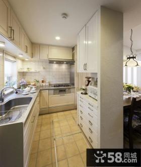 北欧风格小户型厨房装修效果图