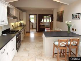 美式乡村风格整体厨房装修设计